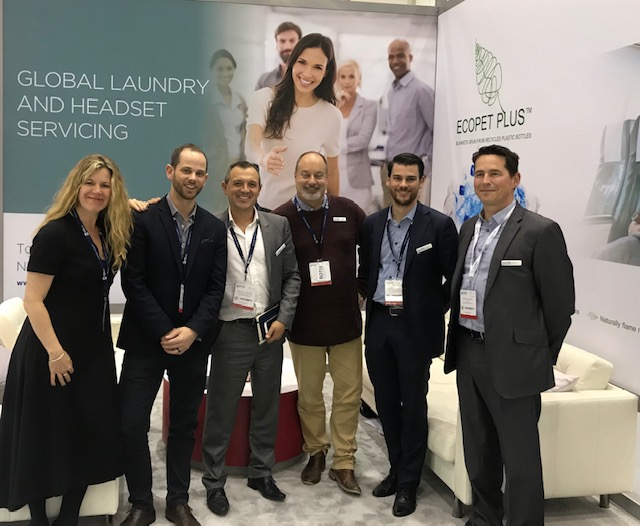 Global Airline Laundry Team at WTCE 2019