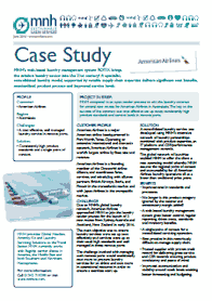 case study distribution at american airlines case study: distribution at american airlines overview american airlines is a major united states airline it was formed in 1930 as a passenger airline and merged with different carriers since its formation.